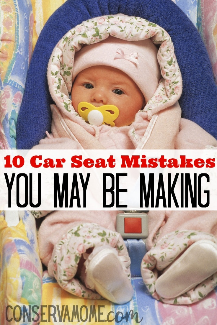 We try to protect our little ones from so much, but many times we make simple mistakes we're not aware of. Here are Car Seat Mistakes You May Be Making that you didn't know.