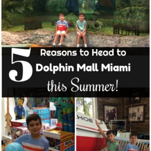 5 Reasons to Head to Dolphin Mall Miami this Summer!
