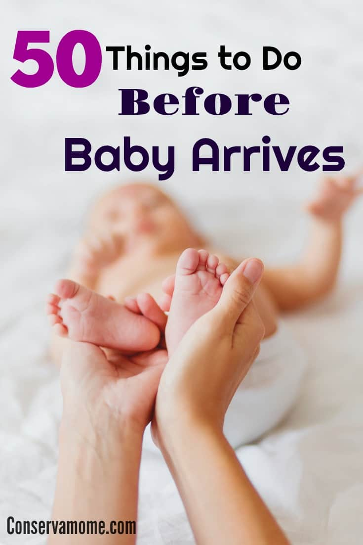 Your life will change once baby gets here. Here is a great  list of the 50 Things to Do Before baby arrives to make the transition smooth for all.