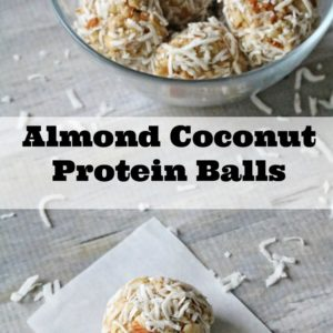 Almond Coconut Protein Balls Recipe