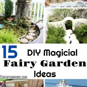 15 DIY Magical Fairy Garden Ideas + Tips on How to make One