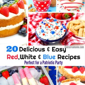 20 Delicious & Easy Red, White & Blue Desserts, Perfect for a Patriotic Party