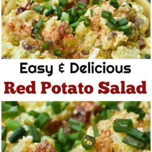 Easy Red Potato Salad Recipe