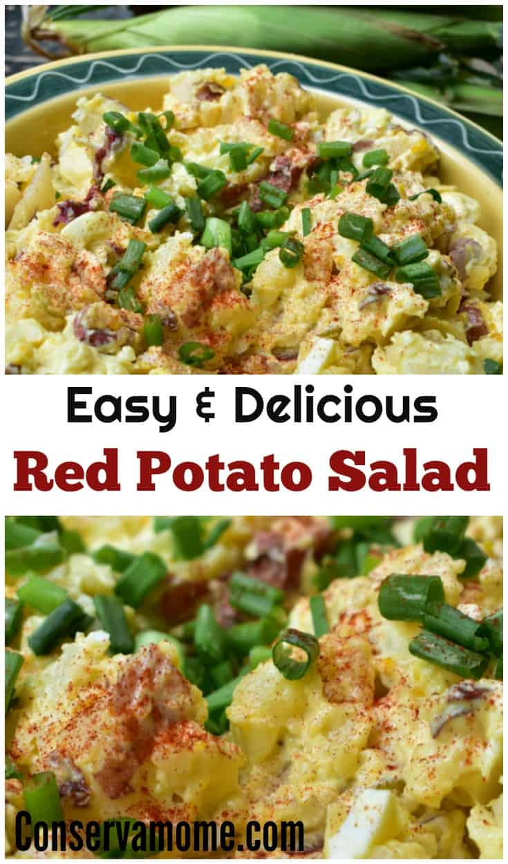 Making a delicious potato salad doesn't have to be impossible. As a matter of fact, this Easy Red Potato Salad recipe is so simple to make you'll never buy store bought potato salad again!  Easy Red Potato Salad Recipe , This Easy Red Potato Salad using Egg is quick and delicious. Perfect Side dish for a barbecue.