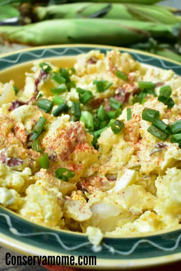 Easy Red Potato Salad Recipe , This Easy Red Potato Salad using Egg is quick and delicious. Perfect Side dish for a barbecue.
