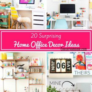 20 Surprising Home Office Decor Ideas