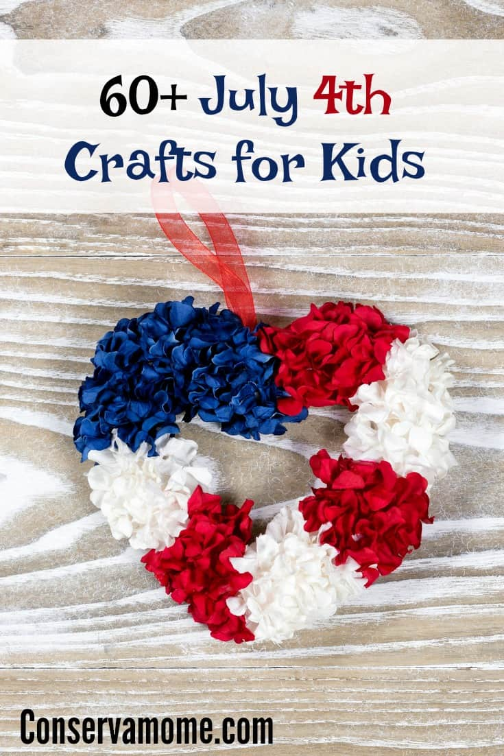 60+ July 4th Crafts for kids