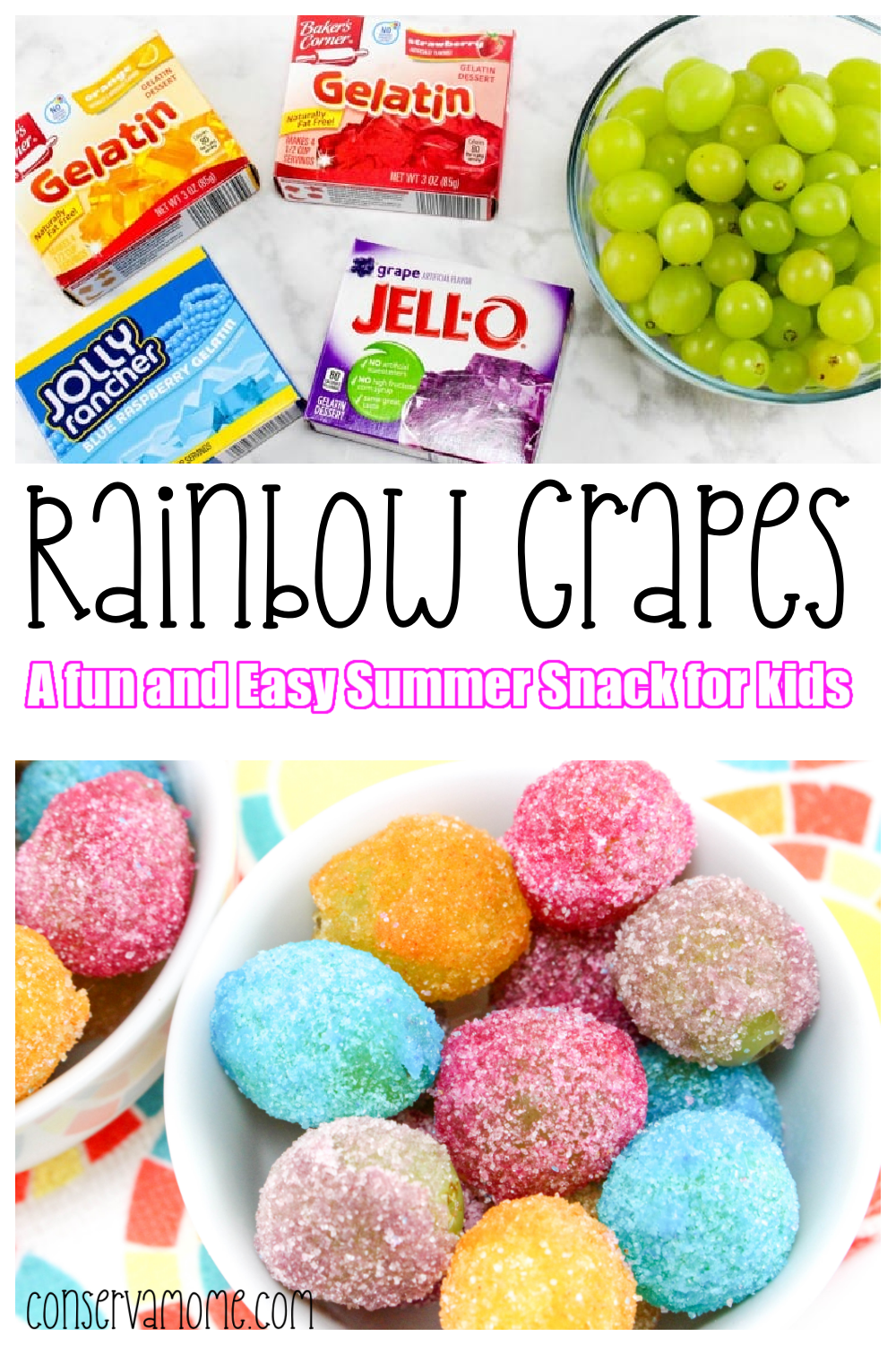 Rainbow Grapes- Perfect Summer Snack