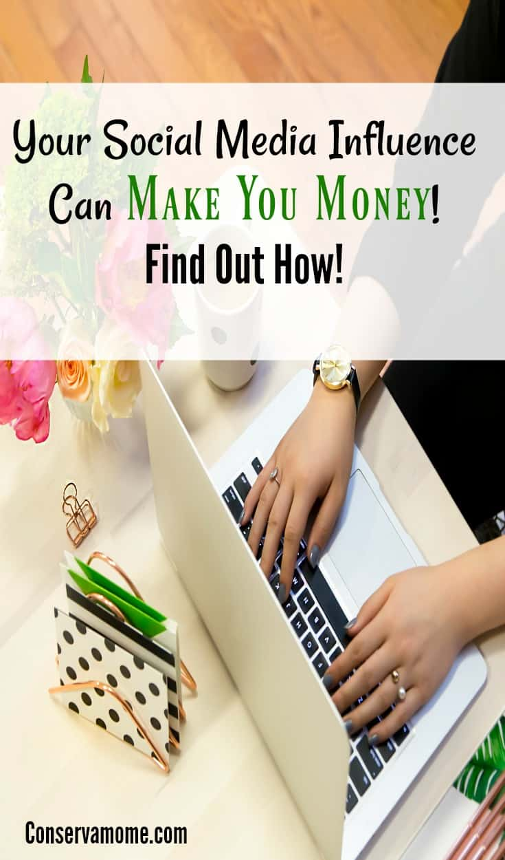 Your  Social Media Influence can Make Money for You