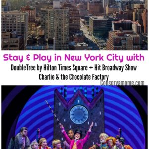 DoubleTree by Hilton Times Square West Partners with Hit Broadway ShowCharlie & the Chocolate Factory!