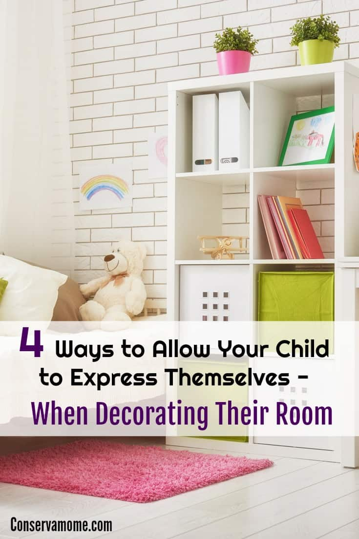 4 Ways to Allow your Child to Express themselves when decorating their room