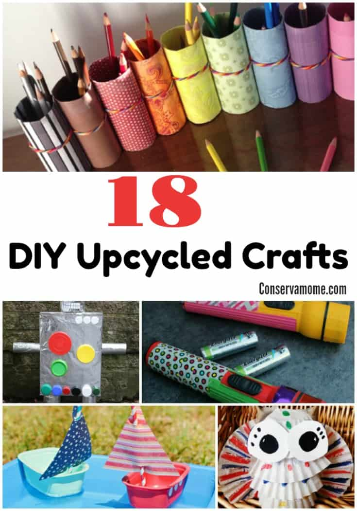 18 diy upcycled crafts conservamom