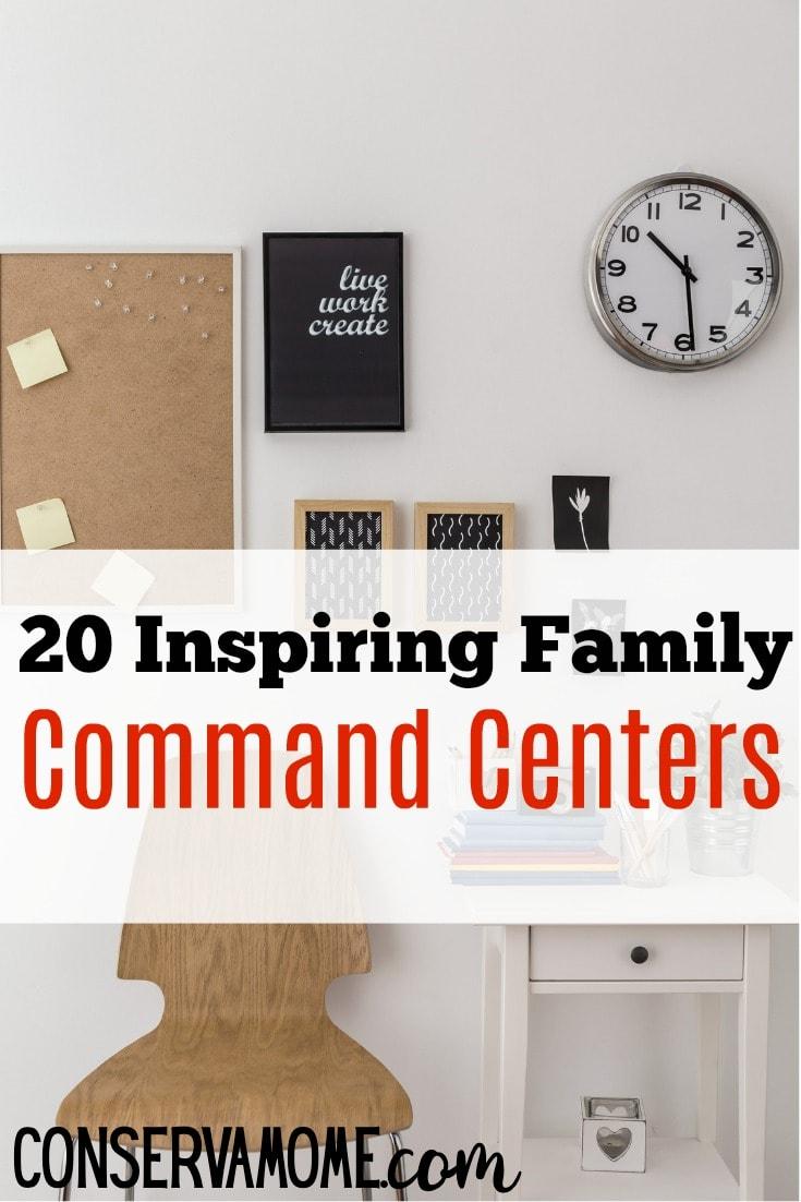 Inspiring Family Command Centers