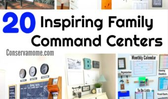 20 Inspiring Family Command Centers
