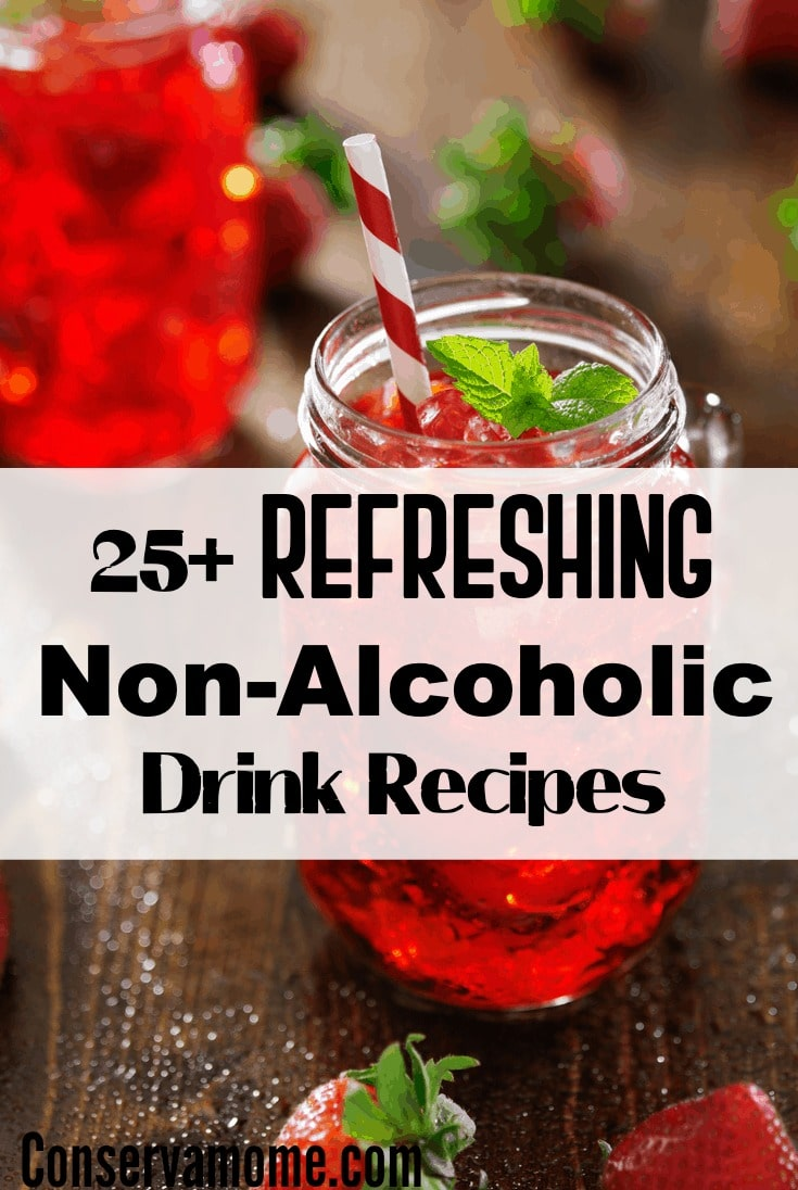 Ready to relax on a hot summer day? Don't forget to sit back with a delicious drink. Check out this list of 25+ Refreshing Non Alcoholic Drink Recipes sure to cool you down!