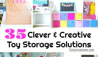 35 Clever and Creative Toy Storage Solutions