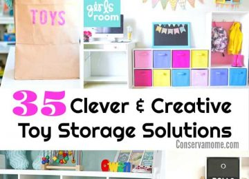 Toy storage solution ideas