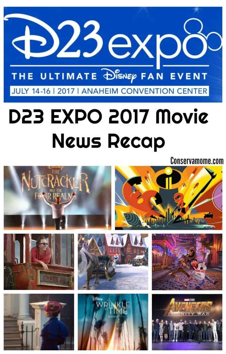 Every two years Disney Fans get to experience all things Disney at the D23 Expo! This year's D23 Expo highlighted some great Disney/Lucas Films & Marvel Movies coming our way in the next couple of years.D23 Check out the D23 EXPO 2017 Movie News Recap