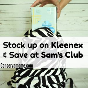 Stock up on Kleenex & Save at Sam's Club