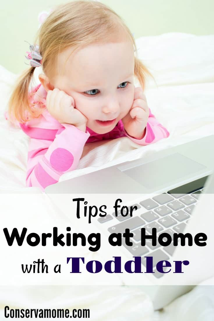 Working at home with a toddler doesn't have to be impossible. Check out some tips to help make the transition easier for all.