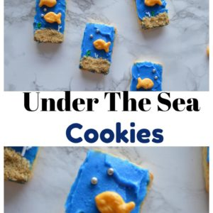 No Bake Under the Sea Cookies