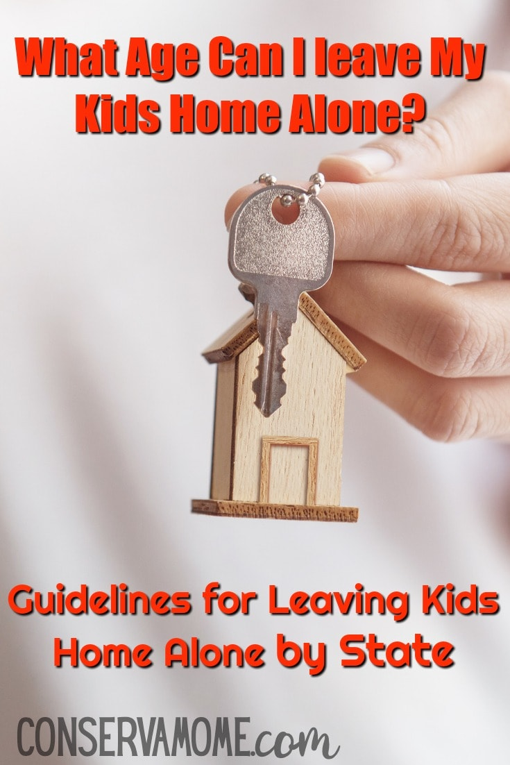 What age can I leave my kids home alone + Guidelines for leaving kids home alone by state
