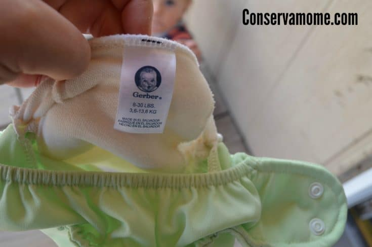 Gerber It's A Snap All-in-One Diaper Review