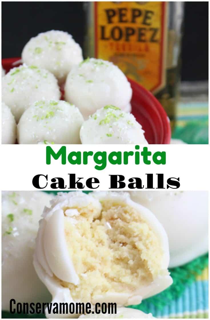Conservamom Margarita Cake Balls Recipe A Delicious