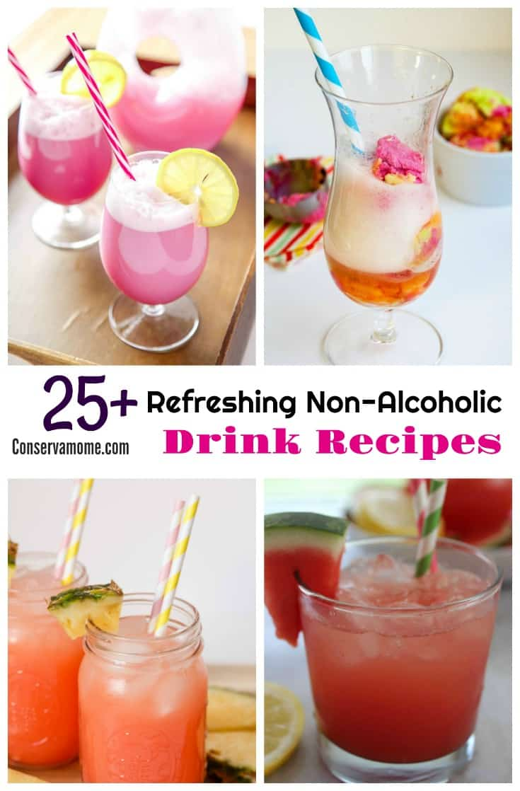 25 refreshing non alcoholic drink recipes conservamom
