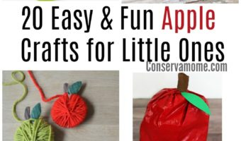 20 Easy & Fun Apple Crafts for Little Ones