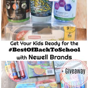 Get Your Kids Ready for The #BestofBacktoSchool with Newell Brands + Big Giveaway