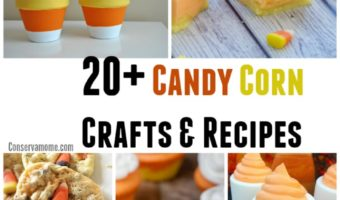 20+ Candy Corn Crafts & Recipes
