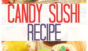 Candy Sushi Recipe: A Fun & Unique Dessert Idea