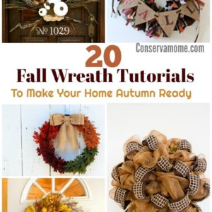 DIY Fall Wreath Tutorials To Make Your Home Autumn Ready