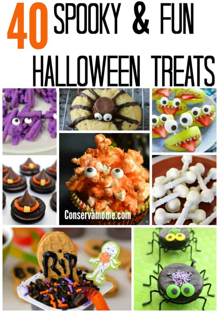 Halloween desserts and treats