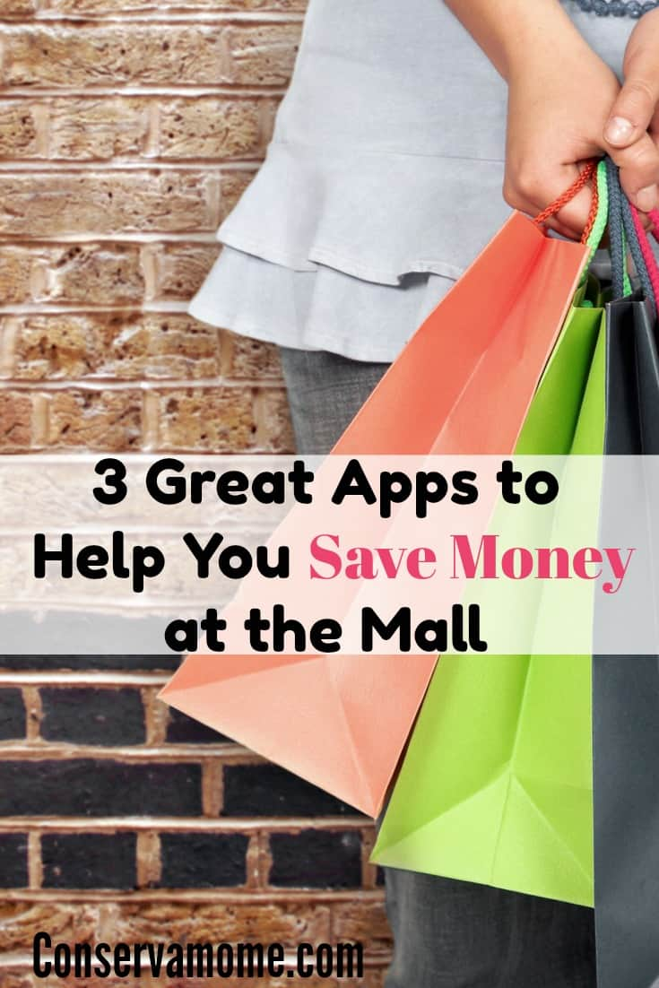 Who doesn't love to save when they shop? Find out about 3 great apps to help you save money while at the mall.