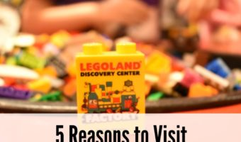 5 Reasons to Visit Legoland Discovery Center Westchester + Family 4 pack Giveaway