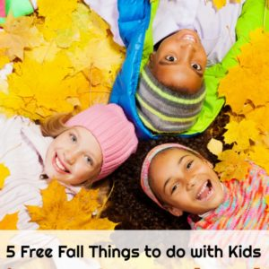 5 Free Fall Things to do With Kids in your Own Backyard