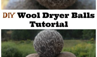 DIY Wool Dryer Balls Tutorial
