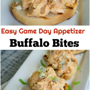 Easy Game Day Appetizers Buffalo Bites