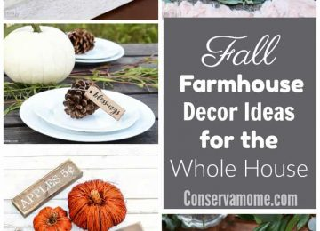 Fall farmhouse decor ideas for the whole house