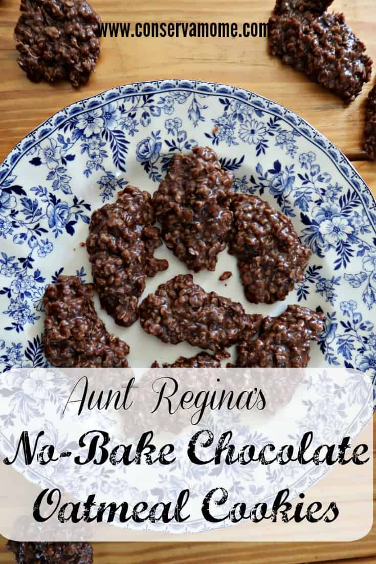 This amazing recipe for Aunt Regina's No-Bake Chocolate Oatmeal Cookies Recipe is a family treasure that you will love! Check out how easy this cookie recipe can be.