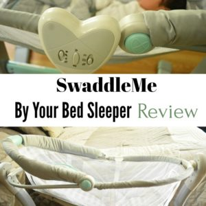 SwaddleMe By Your Bed Sleeper Review + Giveaway
