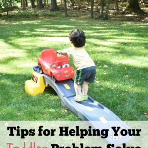 Tips for Helping Your Toddler to Problem Solve + Step2 Giveaway