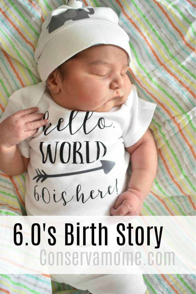 Check out what my birth story was with my #6.