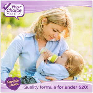 Parents Choice Formula, Saving You Money One Bottle At A Time #ParentsChoice