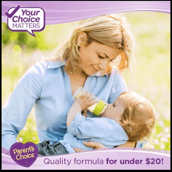 Alternating breast milk and formula