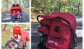 5 Tips to Enjoy a Fall walk with Little Kids & Joovy ScooterX2 Stroller