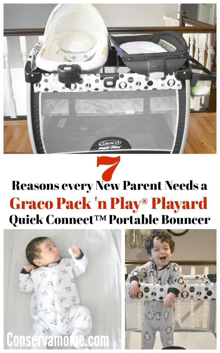7 Reasons every New Parent Needs a Graco Pack 'n Play Playard Quick Connect