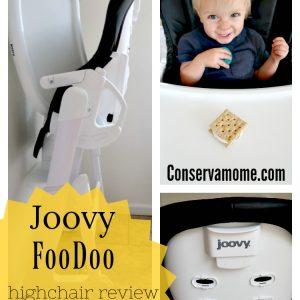 Joovy FooDoo High Chair + Fun Toddler Snack Recipe